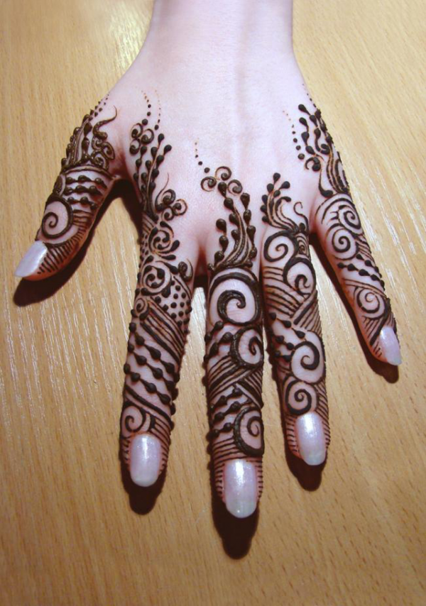 Beautiful Ethnic Henna Artwork Tattoo Design