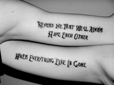 Best Friend Tattoo Images