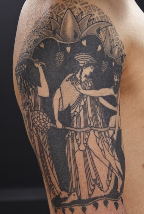 Best Greek Mythology Tattoo Design