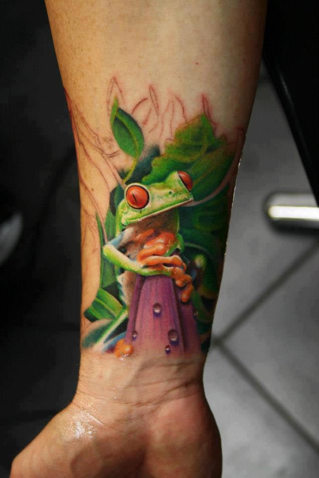 Frog Tattoos Designs And Ideas  Page 40