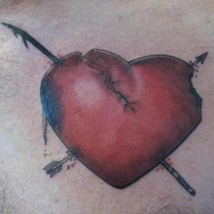 Broken Heart Tattoo
