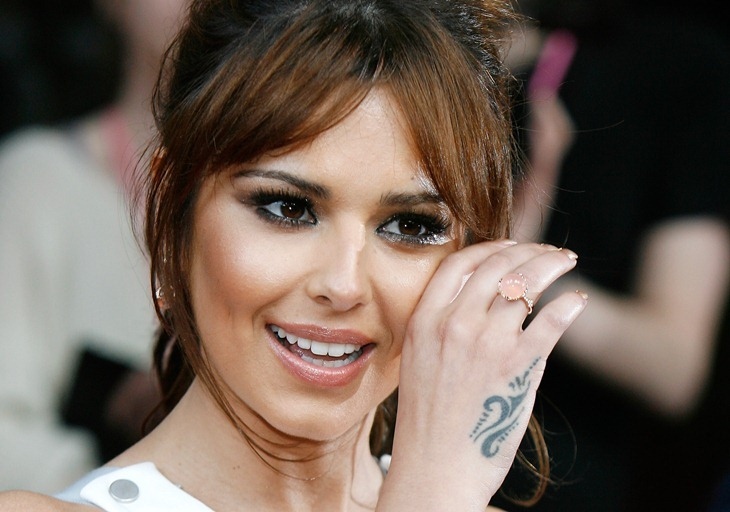 Cheryl Cole Hand Tattoo Design