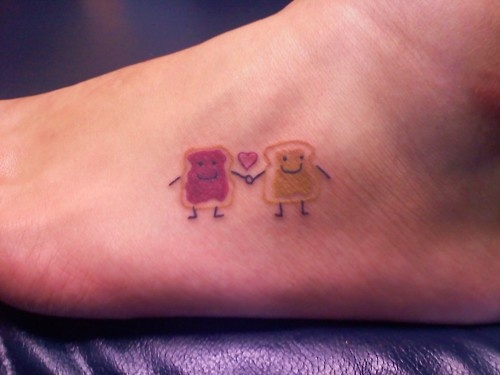 Cute Friendship Loyalty Love Tattoo Designs