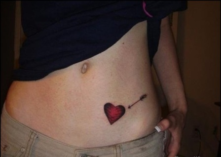 Cute Heart Tattoos for Women