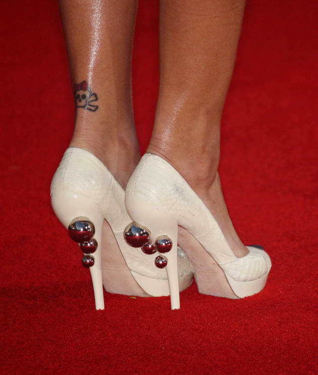 Heel Tattoos Designs And Ideas  Page 11