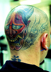 Bald Head Tattoo Image