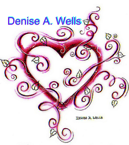 Denise A. Wells Heart Tattoo Sample
