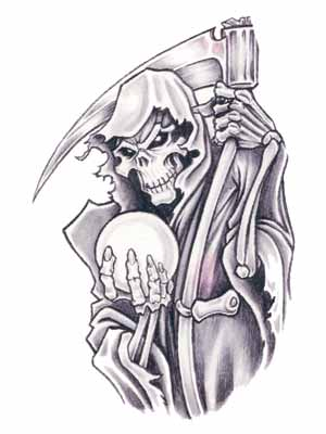 Grim Reaper Tattoo Stencils Images amp Pictures Becuo