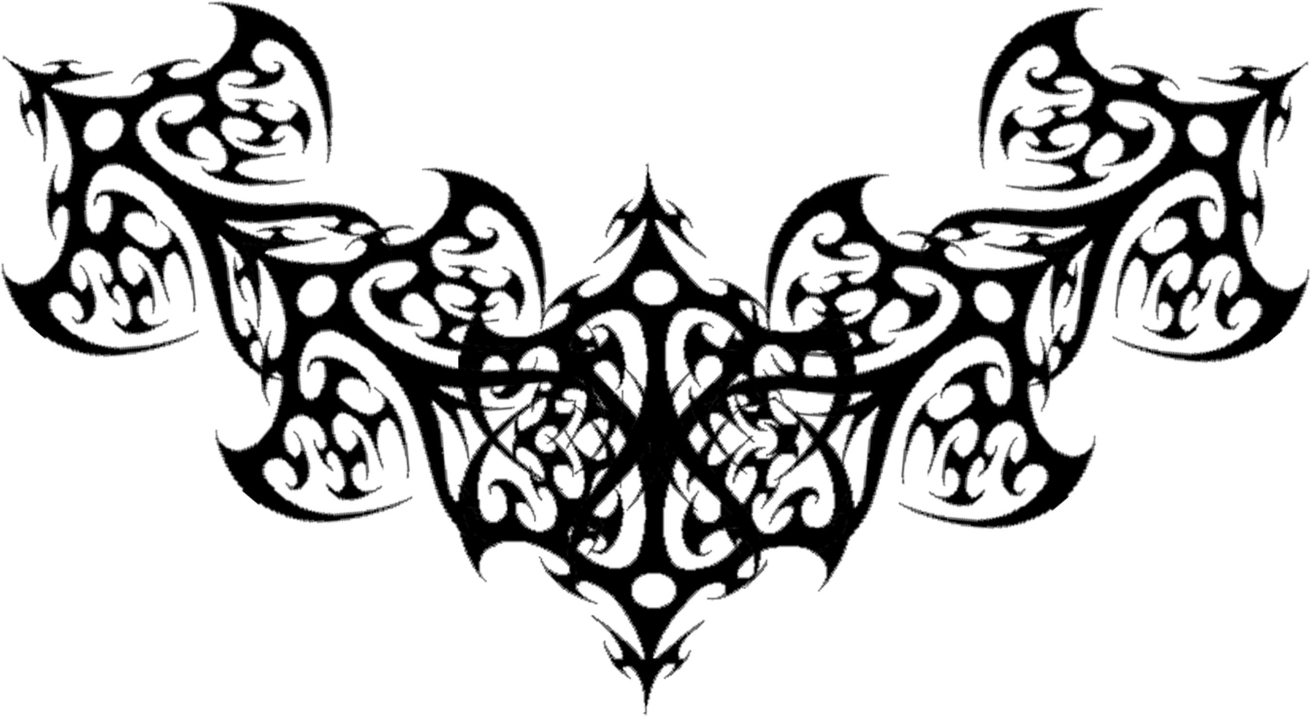 Filigree Gothic Tattoo Design