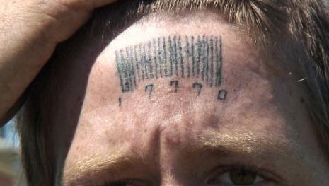 Forehead Tattoo Design