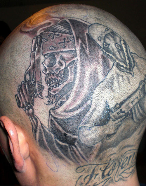 Gangsta Tattoo For Tough Guys