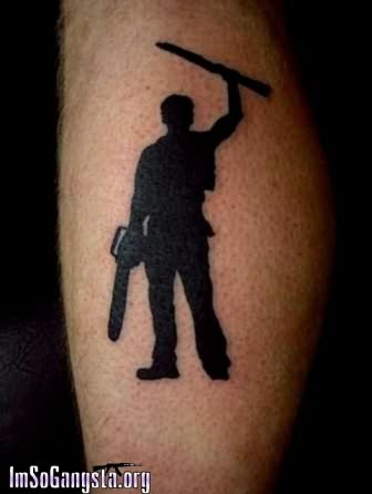 Gangster Boy Tattoo On Arm