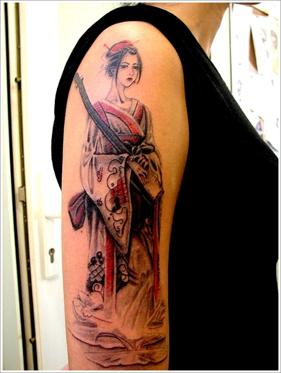 Geisha Tattoos, Designs And Ideas : Page 37 The Girl With The Dragon Tattoo Poster