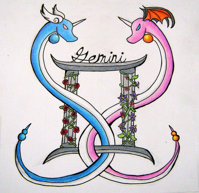 Gemini Tattoos Designs And Ideas  Page 5