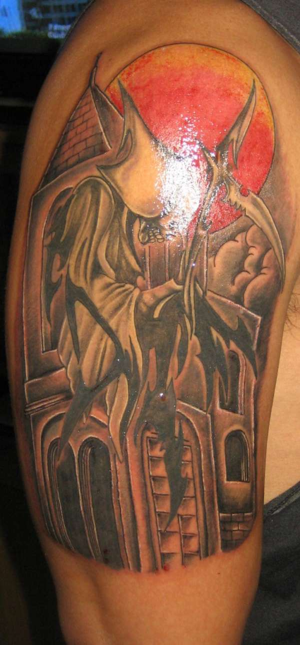 View more tattoo images under grim reaper tattoos html code for tattoo
