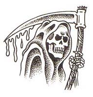 Grim Reaper Tattoo Sample