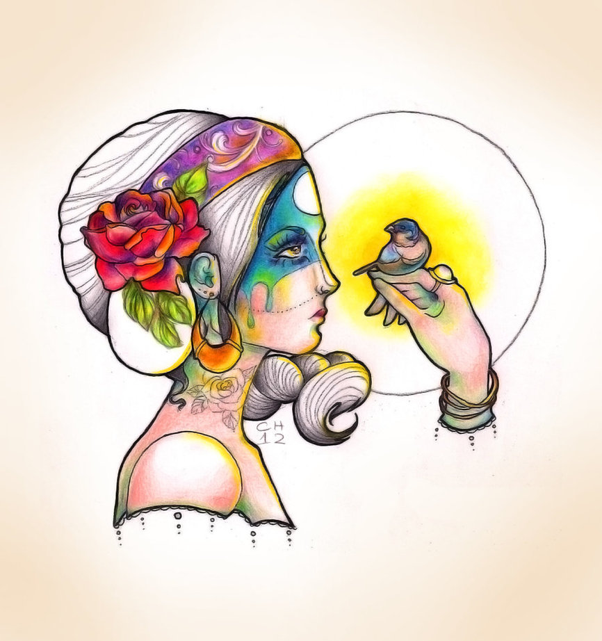 Gypsy Soul Tattoo Design