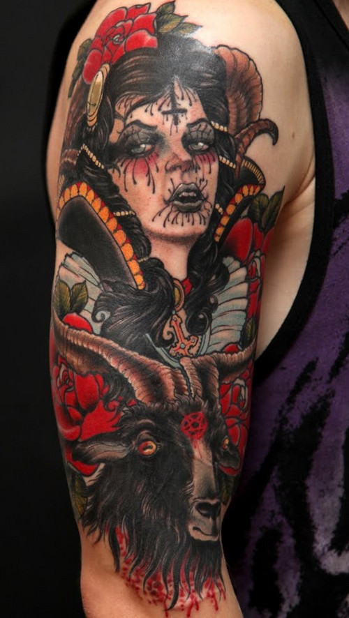 Gallery For gt Neo Traditional Pirate Ship Tattoo