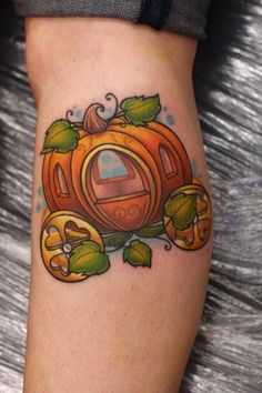 Halloween Pumpkin Tattoo Design