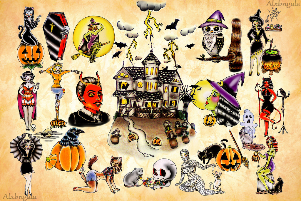 Halloween Tattoos Designs And Ideas Page 6
