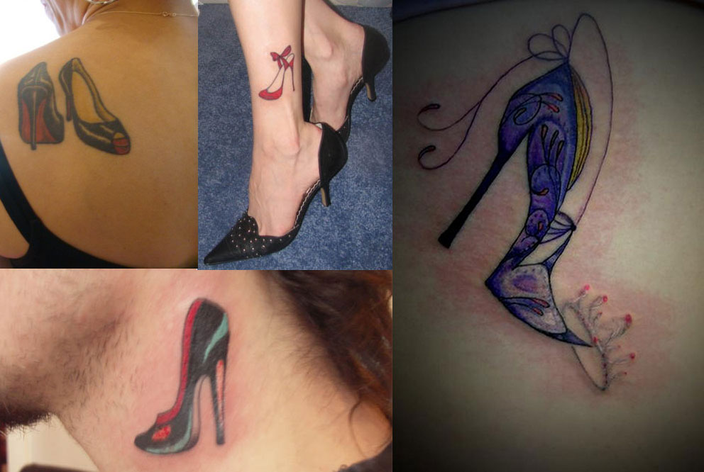 Heel Tattoo Designs