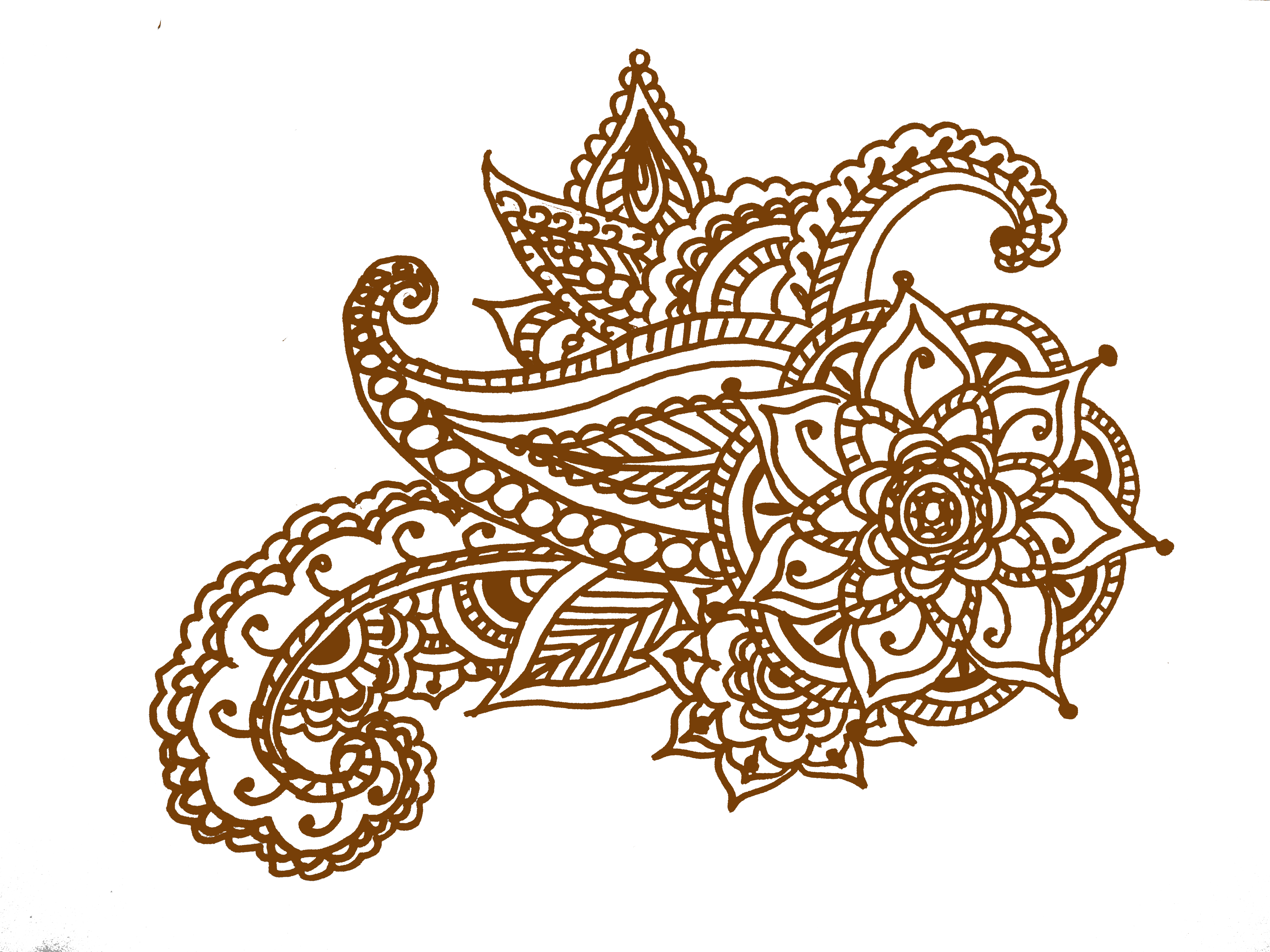 Henna Designs Circle  Viewing Gallery