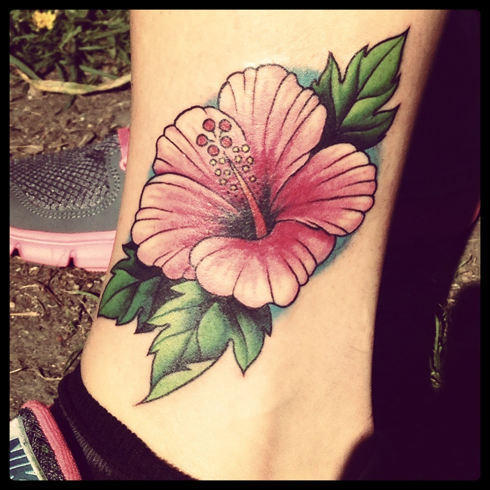 Hibiscus Tattoos Designs And Ideas  Page 4