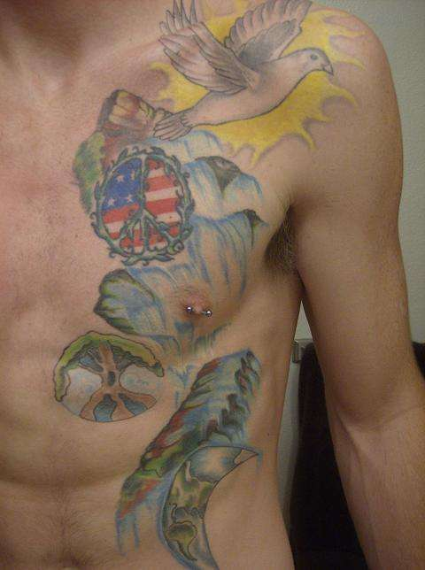 Hippie Tattoo For Guys