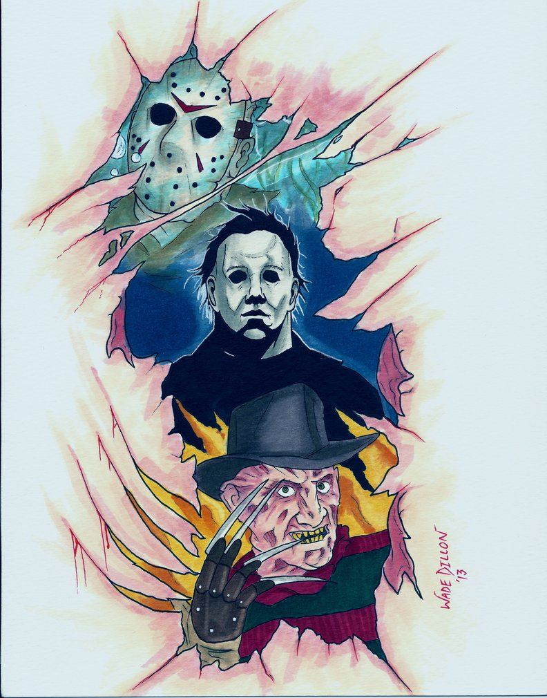 Horror Icon Tattoo Design