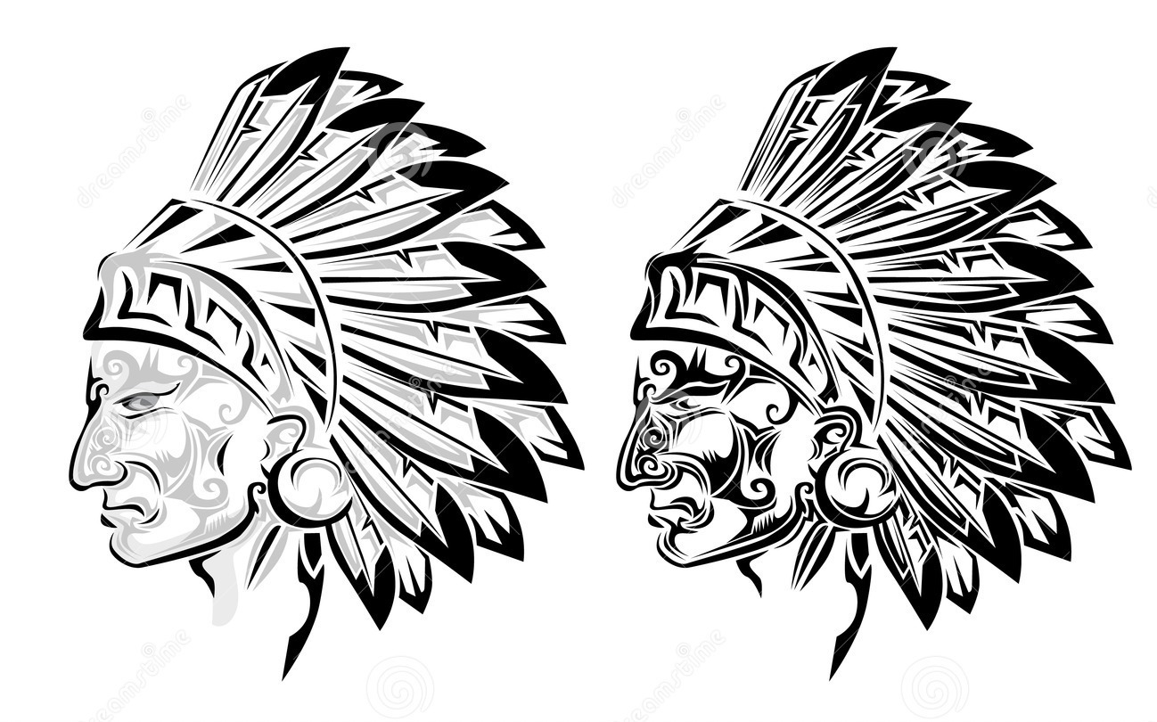 American Indian Chief Tattoo Designs