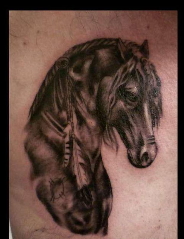 Animal Horse Tattoo Design