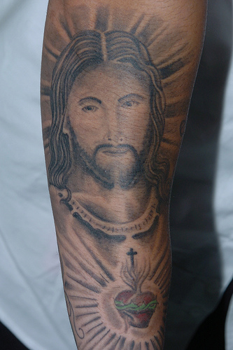 Fantastic Jesus Tattoo Art