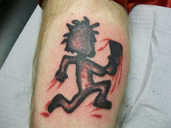 Hatchet Man ICP Tattoo Art