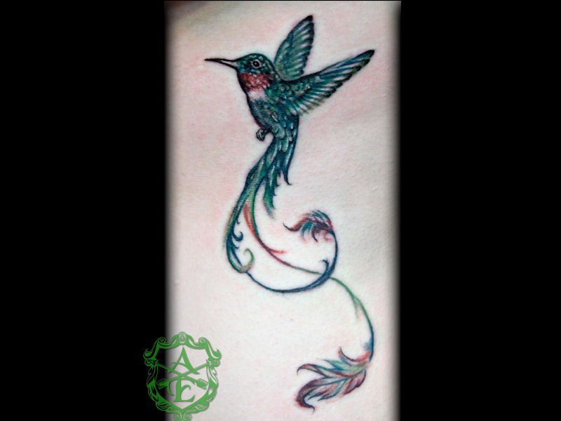 Tattoo images under hummingbird tattoos html code for tattoo picture
