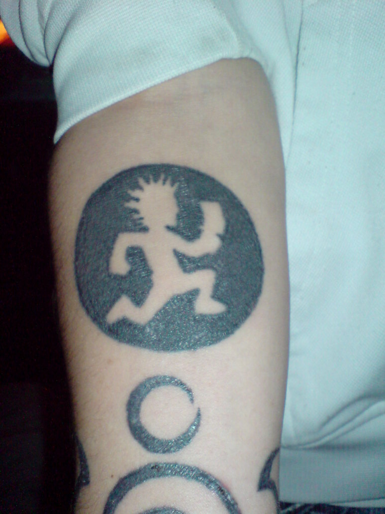 ICP Tattoo On Forearm