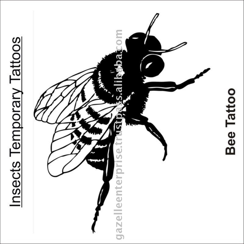 Insects Temporary Tattoo Design