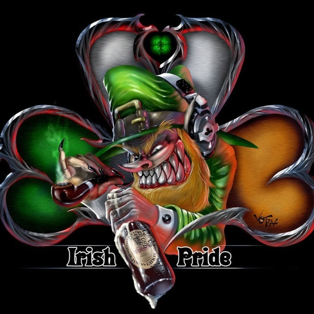 Irish Pride Tattoo Graphic
