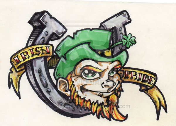 Irish Pride Tattoo Sample