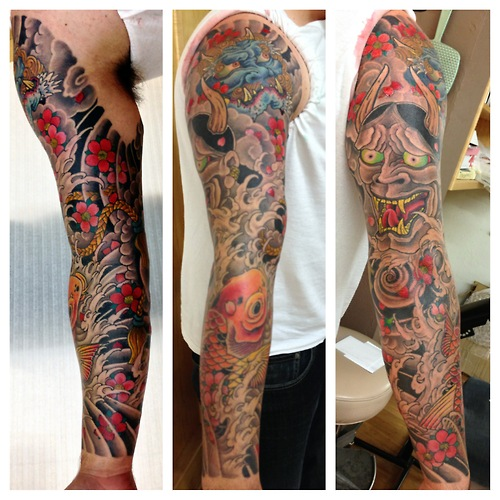 Japanese tattoos designs and ideas page 42