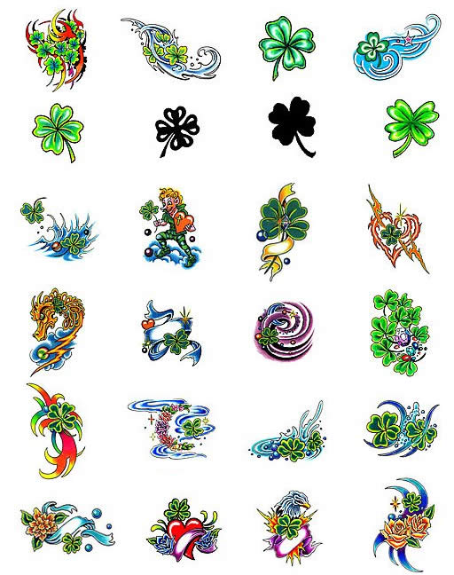 Lots Of Irish Tattoo Designs