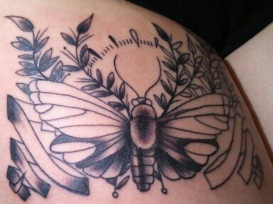 Mind Blowing Insect Tattoo Art