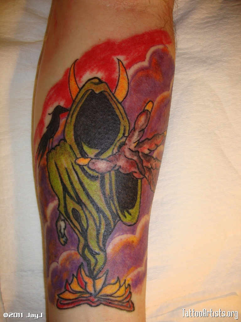 Scary  ICP Tattoo Design