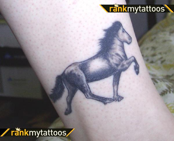Tattoo Of Horse