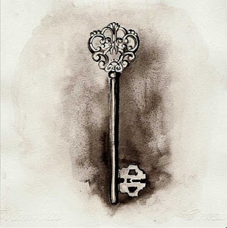 vintage-skeleton-key-tattoo-design