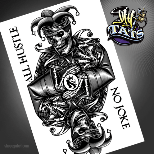 icp joker card tattoo