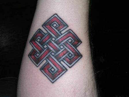 Amazing Endless Knot Tattoo Design