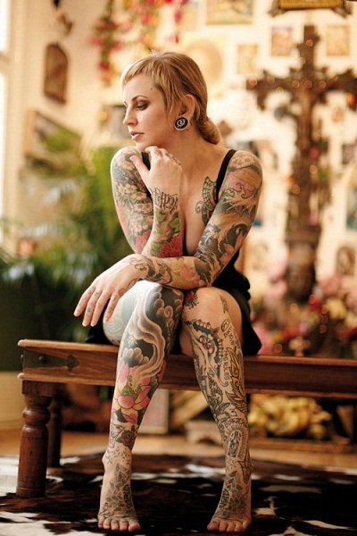 Amazing Leg Sleeve Tattoo Designs For Women