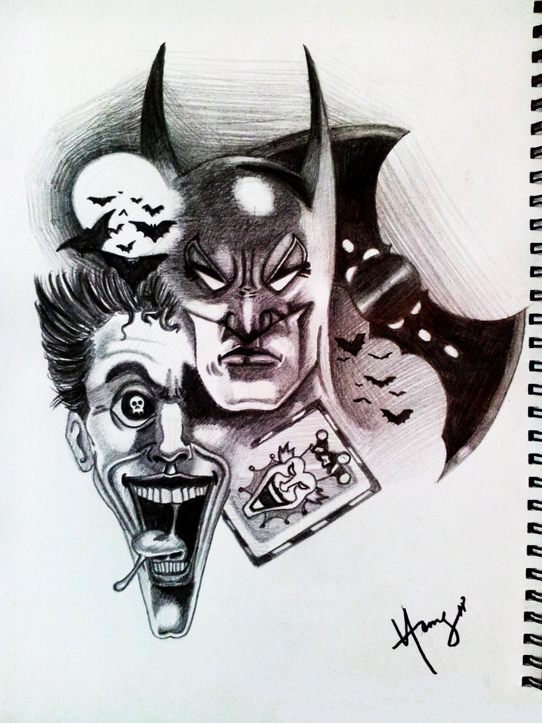 Pics Photos Batman The Joker Drawings
