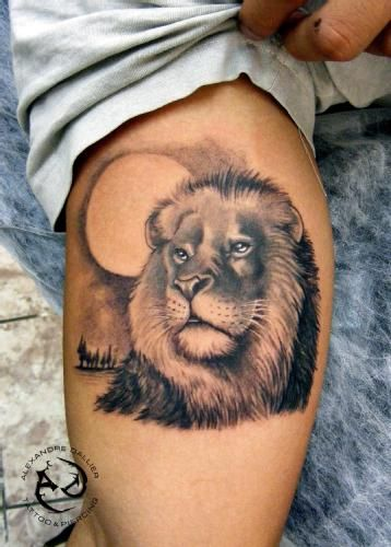 Best Lion Tattoo Design
