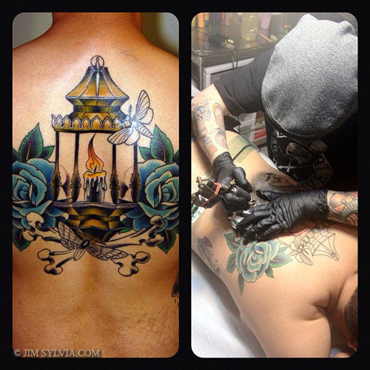 Candle Lamp Tattoo Pictures